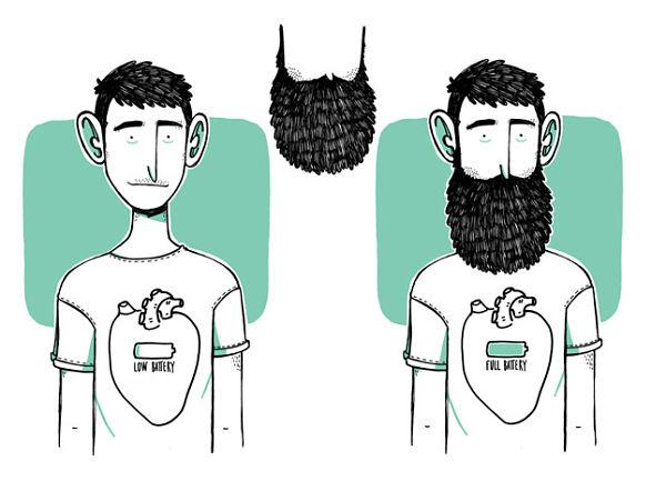 Ilustración de Alfonso Casas del libro No sin mi barba