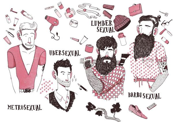 Ilustración del libro No sin mi barba, de Alfonso Casas y Carles Suñé