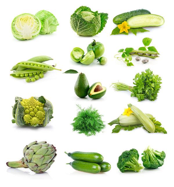 Verduras y hortalizas de hoja verde, alimentos clave para el cabello