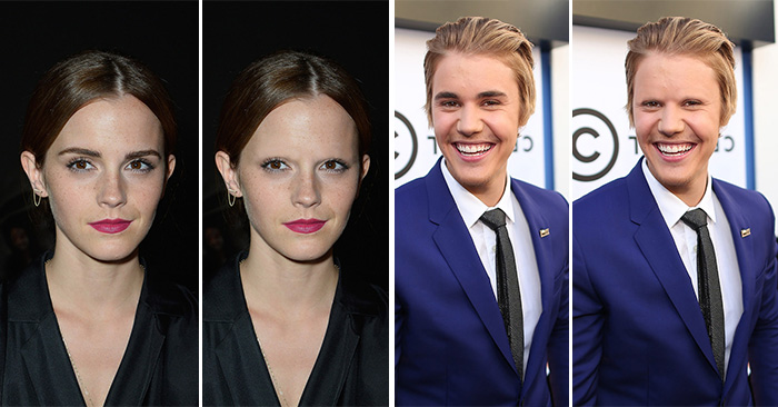 Imagen de famosos sin cejas
