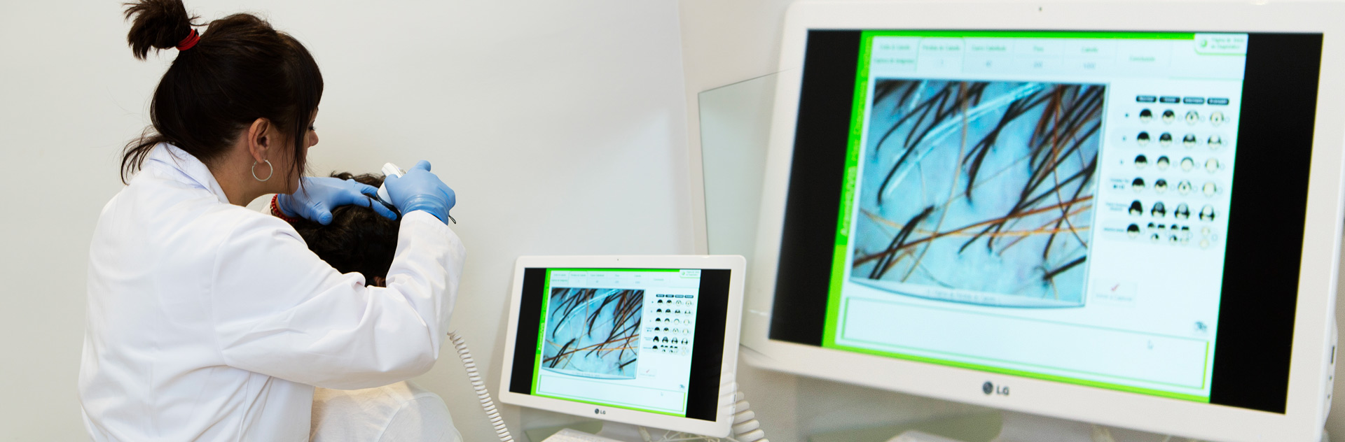 consulta diagnóstico capilar