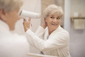 Alopecia menopausia