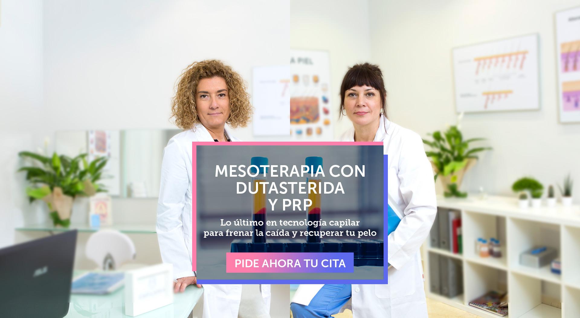 Mesoterapia con Dutasterida y PRP