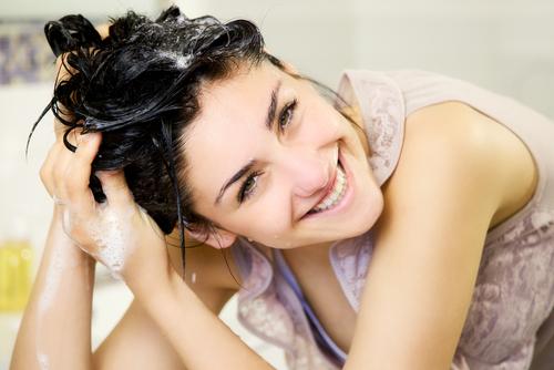lavado cabello
