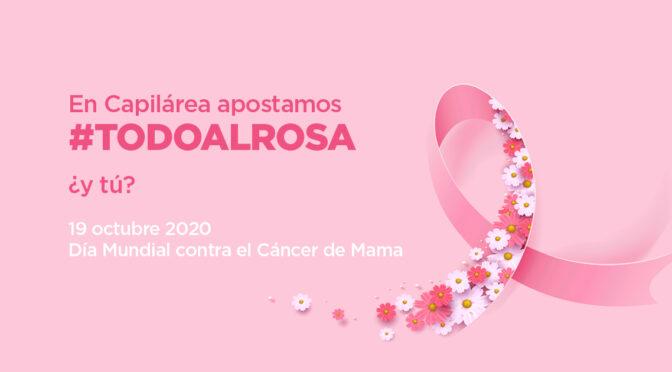 Campaña solidaria Día Mundial Contra el Cáncer de Mama 2020