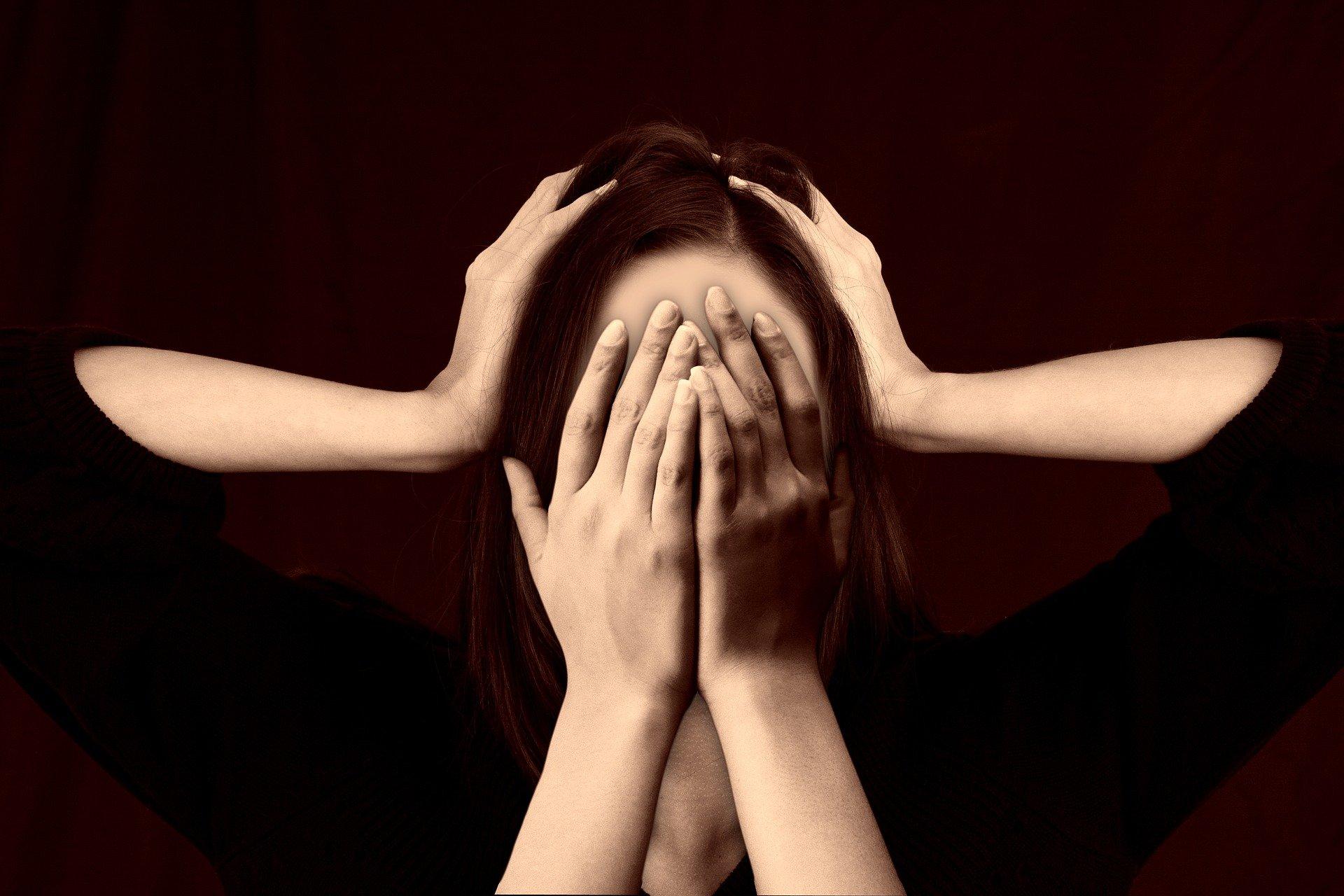 estrés y caída del cabello